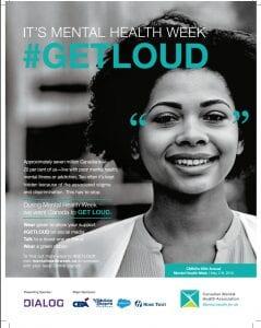 Mental Health Week Canada #GetLoud