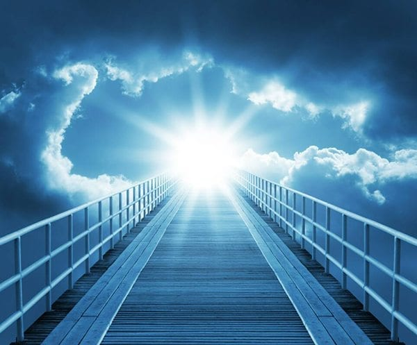 blue light sun