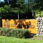 Edgewood Treatment Centre sign