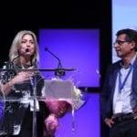 Bellwood CEO and COO Joe Manget and Cara Vaccarino RCC Toronto 2018