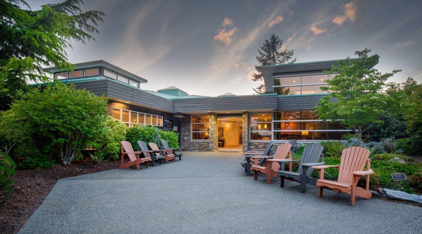 Edgewood Treatment Centre Nanaimo BC Addiction Rehab Facility Front