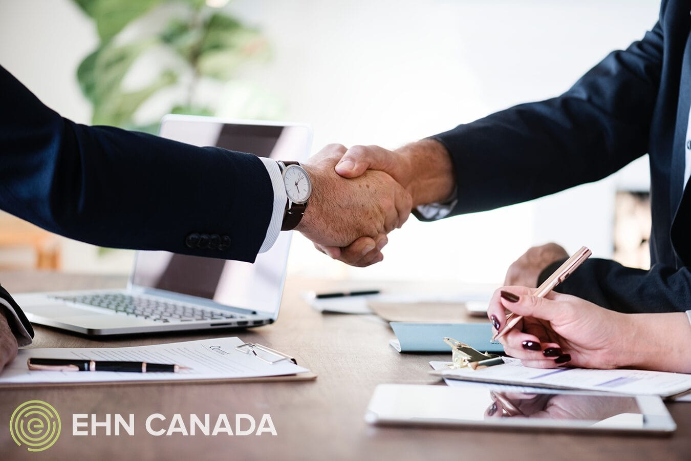 Hand-shake and Commit to Recovery EHN Canada