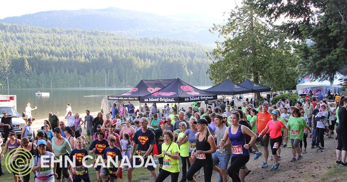 Run for Recovery Raises Awareness Edgewood Treatment Centre Nanaimo BC