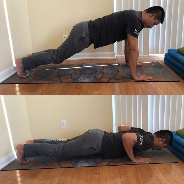 home workout exercises pushup