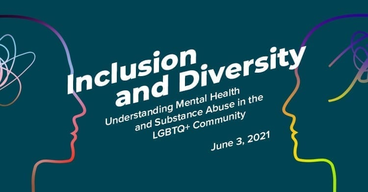 Webinar Banner – Inclusion and diversity LGBTQ