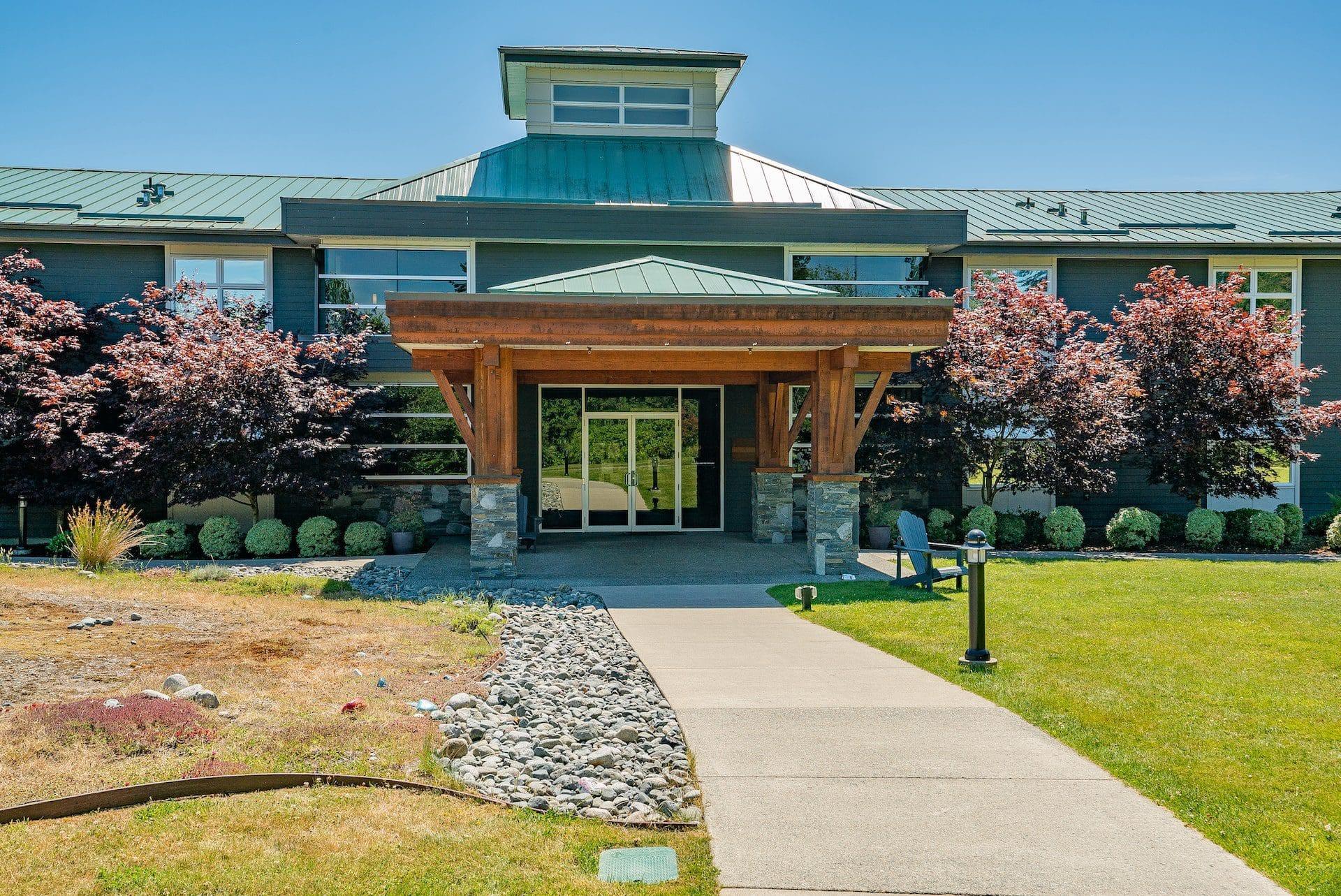 Entrance door to Edgewood Campus
